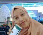 mahasiswi Prodi S1 Agribisnis Fakultas Pertanian Unismuh Makassar, Adinda.