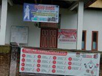 Posko siaga bencana covid-19 di Desa Balangtaroang, Bulukumba, Sulawesi Selatan. (istimewa)