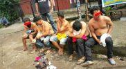 5 orang diamankan polisi di Makassar.
