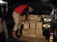 Miras berbagai merk diamankan petugas dari Satuan Sabhara Kepolisian Resort Bantaeng.
